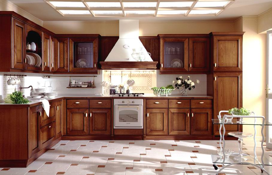 Good All Wood Kitchen Cabinets