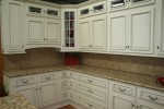 Great Antique White Kitchen Cabinets