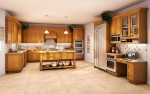 Lovely Assembled Kitchen Cabinets