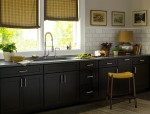 Simple Black Kitchen Cabinets Pictures