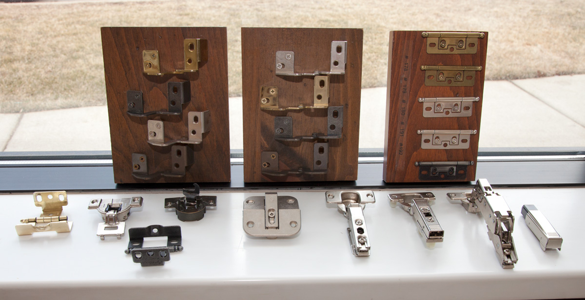 Various Cabinet Hinges