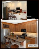 How much does it cost to reface kitchen cabinets 2016 for Refacing bathroom cabinets cost