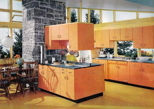 Orange Cabinets For Sale