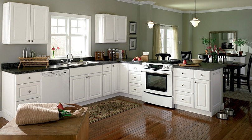 Magnificient cheap white kitchen cabinets 2016 for Bargain kitchen cabinets