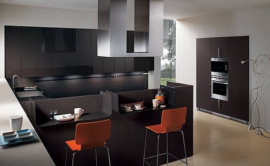Dark Custom Kitchen Cabinets Online