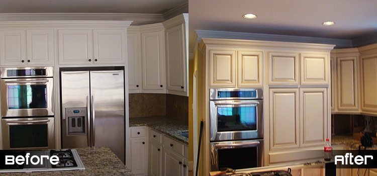 How much does it cost to reface kitchen cabinets 2016 for Cabinet door refacing cost