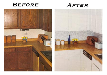 how to refinish cabinets 2