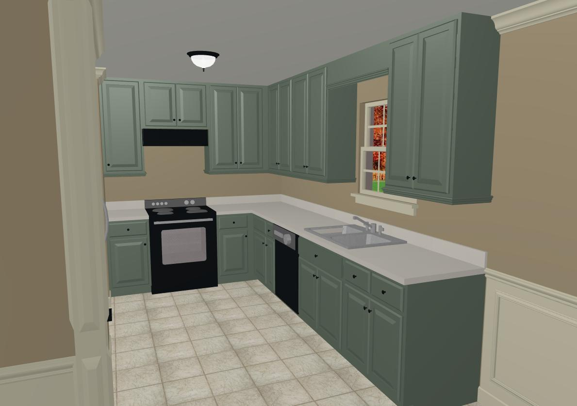 Cool kitchen cabinet colors 2016 Kitchen cabinets colors 2014