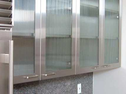 Stainless steel Kitchen Cabinet Doors Online