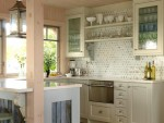 Delicate Kitchen Cabinet Glass Inserts