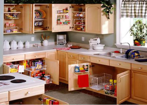 Complete Kitchen Cabinet Organization