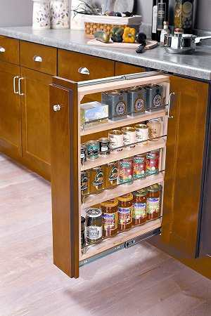 Creative Kitchen Cabinet Organizer