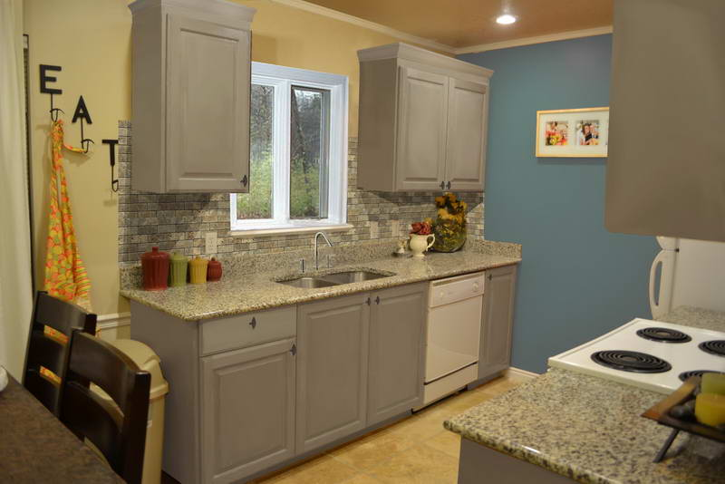 Stunning Kitchen Cabinet Painting