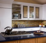 Stunning Kitchen Cabinets Glass Doors