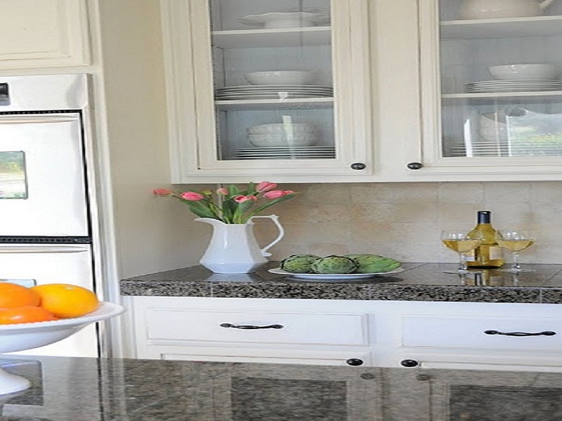 Exquisite Kitchen Cabinets With Glass Doors