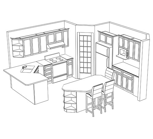 Well formed Kitchen Pantry Cabinet Plans