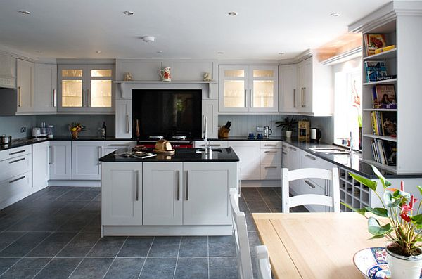 Magnificient Kitchens With White Cabinets