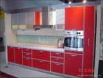 Shiny Red Mdf Kitchen Cabinet Doors