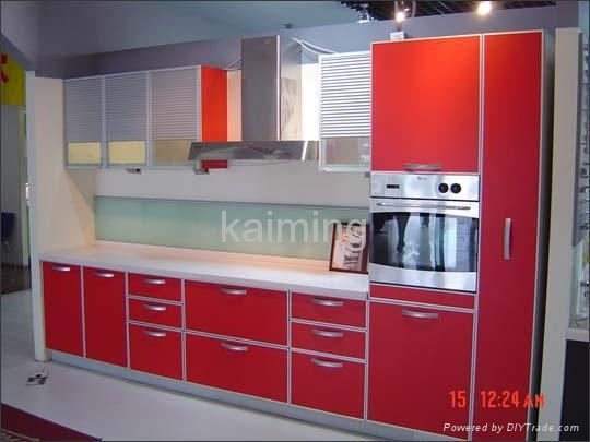 Shiny Red Mdf Kitchen Cabinet Doors 2016