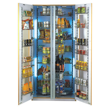 Steel Organize Kitchen Cabinets