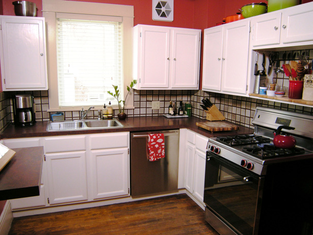 Delightful Paint Kitchen Cabinets