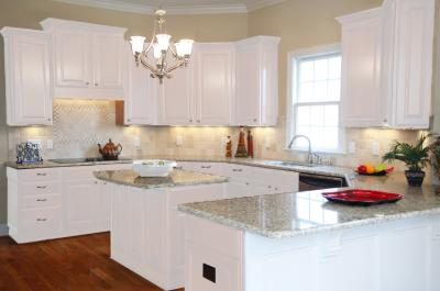 Full White Painted Kitchen Cabinet Ideas