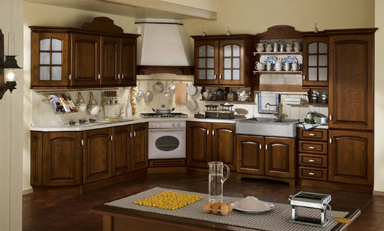 Lasting Real Wood Kitchen Cabinets