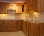 Durable Solid Wood Kitchen Cabinets
