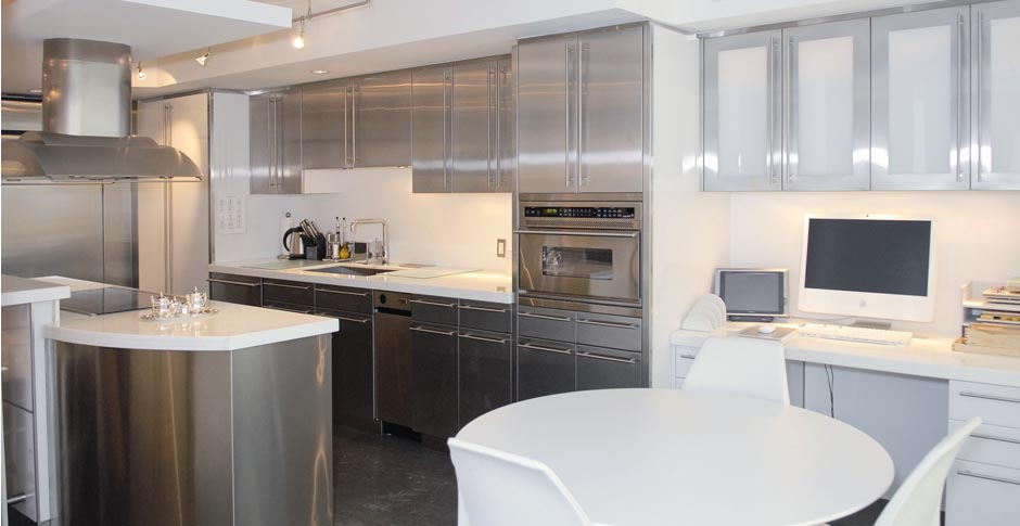 Check this Stainless Kitchen Cabinets