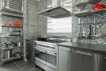Clean Stainless Steel Kitchen Cabinet Handles