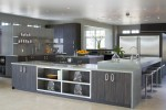 Neat Stainless Steel Outdoor Kitchen Cabinets