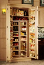 Delicate Tall Kitchen Pantry Cabinet
