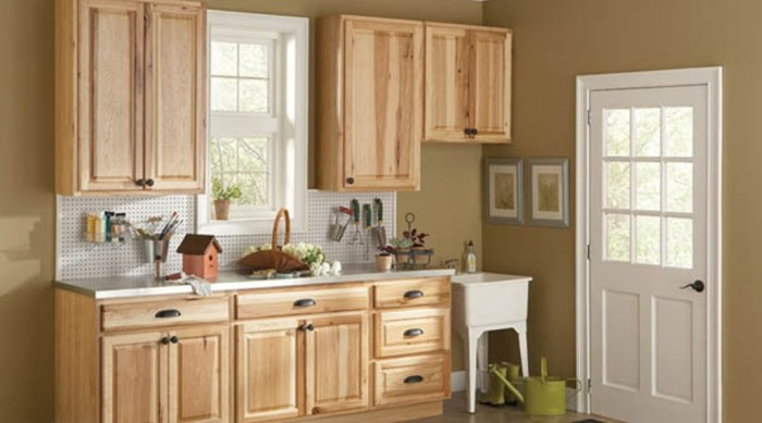 Lovely Unfinished Pine Kitchen Cabinets