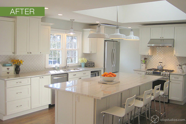 Awesome White Laminate Kitchen Cabinets