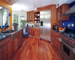 Lovely Wood Kitchen Cabinets