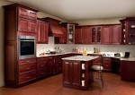 Wood Cherry Kitchen Cabinets