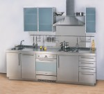 Stainless steel Cost Of Kitchen Cabinets