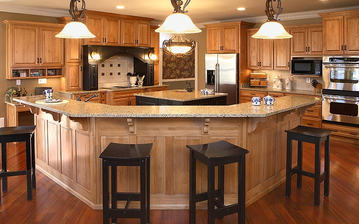 Detailed Custom Cabinets