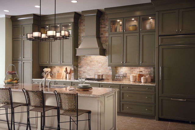 Brown Kitchen Cabinet