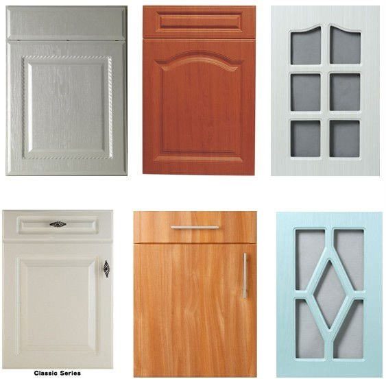 Pvc kitchen cupboard doors 2016 for Kitchen cupboard doors