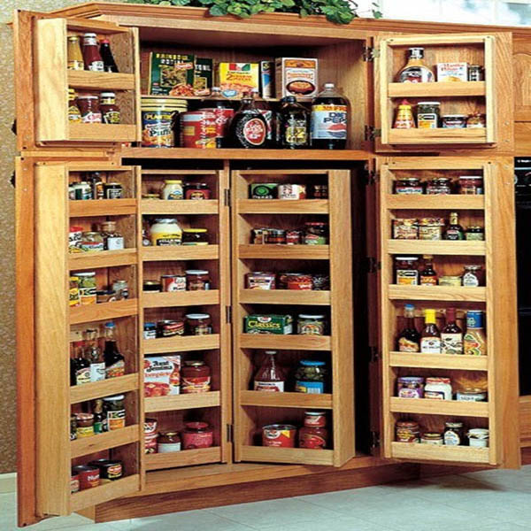 4 Door Kitchen Pantry Cabinet 2016