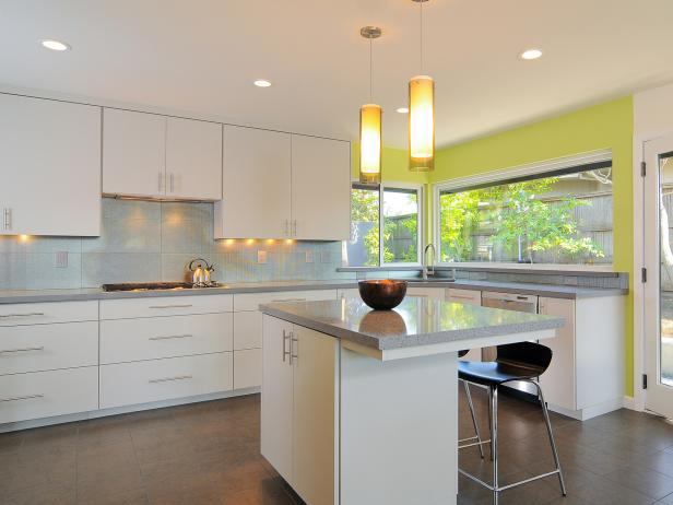 Simple Modern Kitchen Cabinets