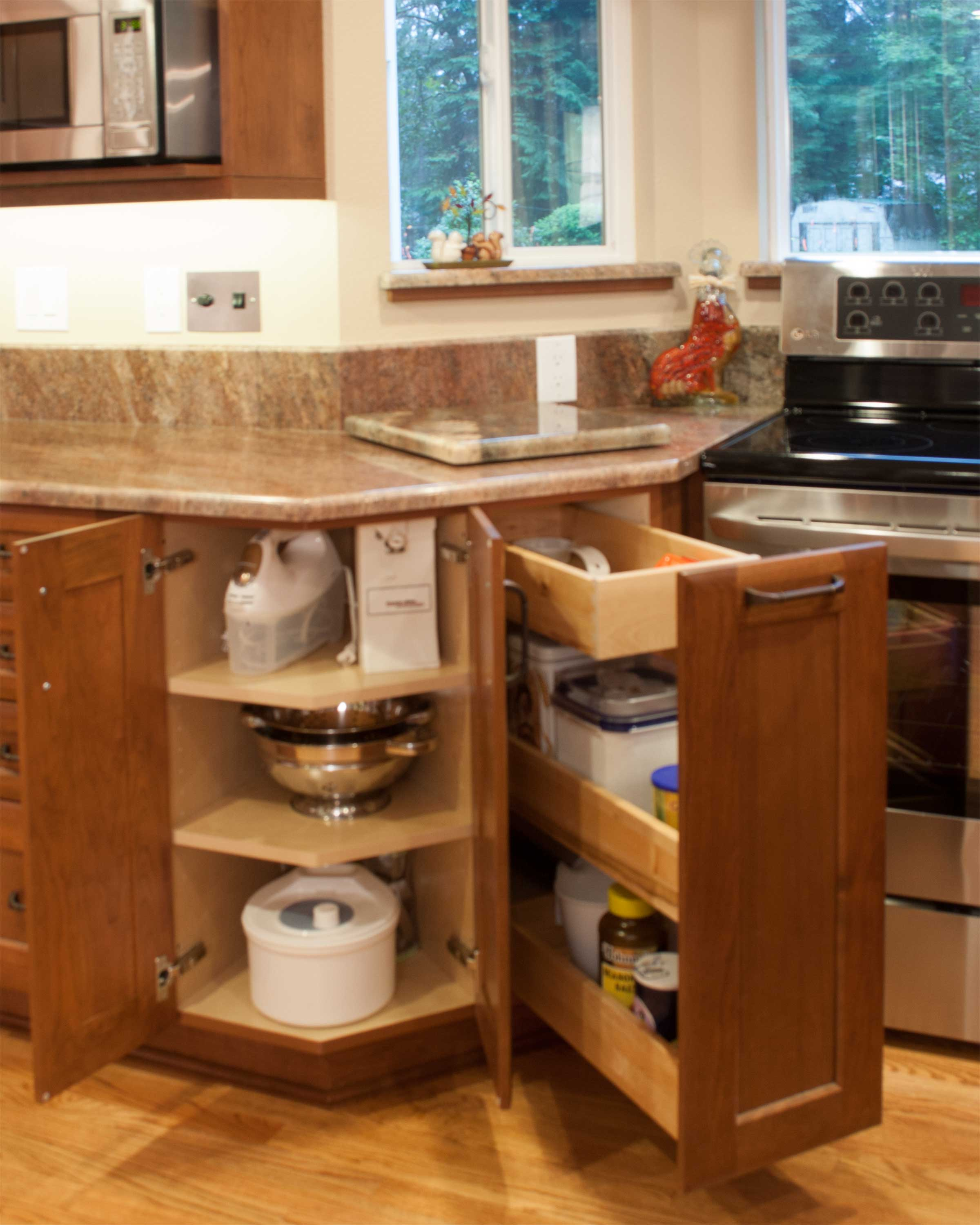 Useful Wood Kitchen Cabinets