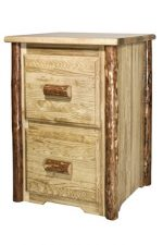 Montana Woodworks Glacier Country Collection 2-Drawer File Cabinet