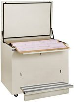 Ulrich Planfiling 5636-DS-C-ARCH Fire Resistant File Cabinet For Documents with Step, 36″ x 56″, Desert Sand