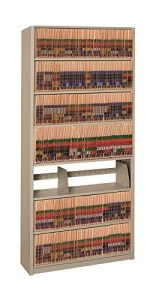 Letter Size File Adder Unit (Tan Metallic)