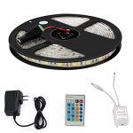 Led Light Strip Kit MECO Waterproof Strip Lights SMD 5050 Flexible Tape Lights 300 LEDs 5M/16.4ft DC 12V for Home Application Boat Decoration and Under Cabinet Lighting – Day Light