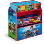Delta Children Paw Patrol Multi-Bin Three Shelves of Storage Space Organizer