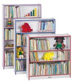 Rainbow Accents 0962JC003 Tall Bookcase, Blue