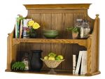 Brooks Furniture 143M Hutch, Medium Oak Finish